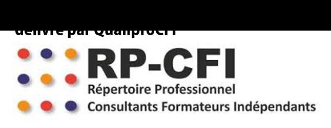 logo certification qualité RPCFI